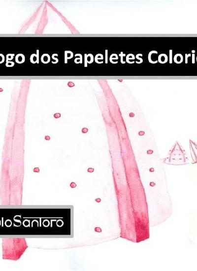 Detalhes do livro O Jogo dos Papeletes Coloridos - trilha sonora