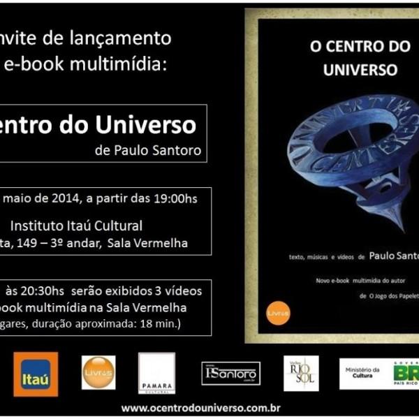 Palestra Itaú Cultural, lançamento 2o livro, São Paulo, SP – 2014